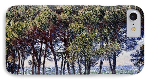 Pines IPhone Case by Claude Monet