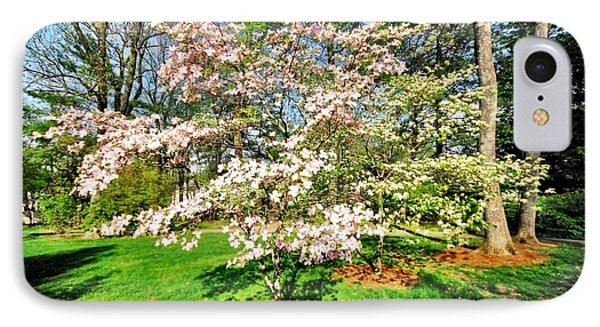 Pink Dogwood IPhone Case by Donald Groves