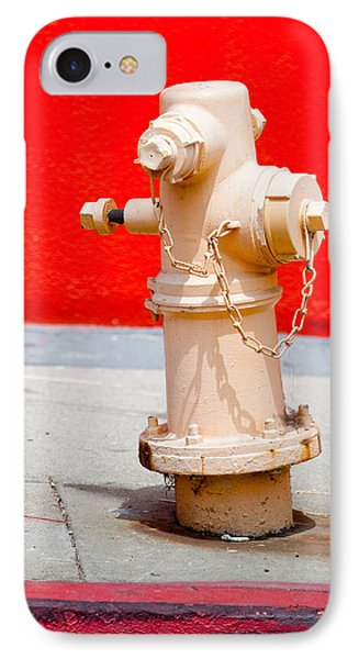 Pink Fire Hydrant Phone Case by Art Block Collections