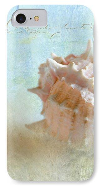 Pink Murex Seashell Phone Case by Betty LaRue
