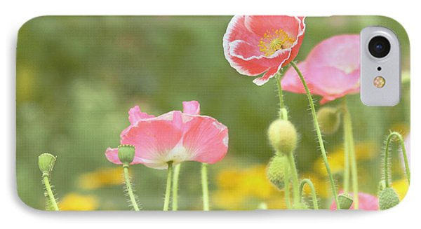 Pink Poppies Phone Case by Kim Hojnacki