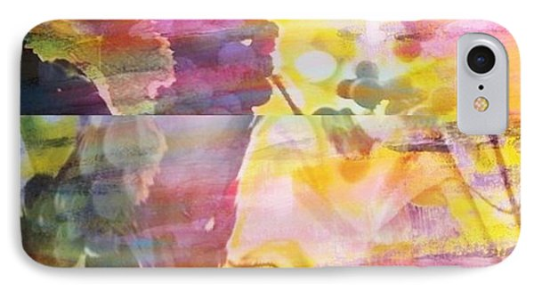 Pink Vineyard Plumps IPhone Case by PainterArtist FIN