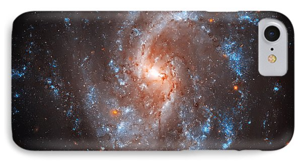 Pinwheel Galaxy Phone Case by Jennifer Rondinelli Reilly - Fine Art Photography
