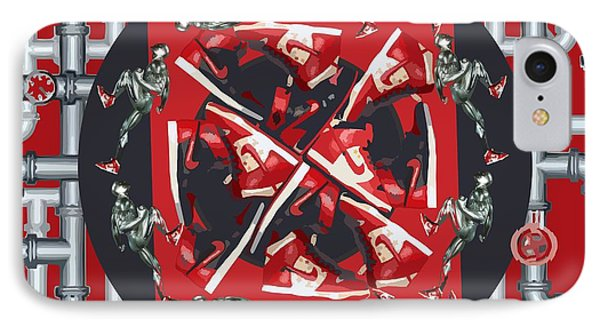 Pipes And Kicks Phone Case by Alfie Borg