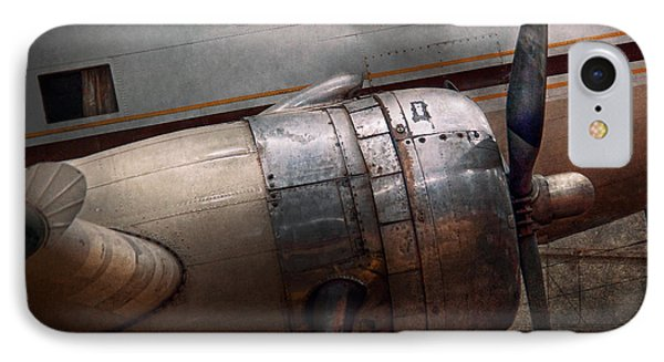 Plane - A Little Rough Around The Edges IPhone Case by Mike Savad