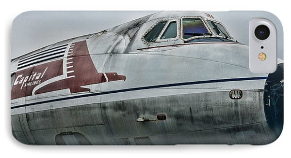 Plane Capital Airlines Phone Case by Paul Ward