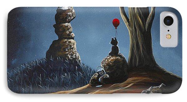 Surreal Art Print By Shawna Erback IPhone Case by Shawna Erback