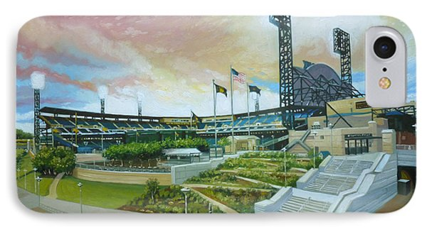Pnc Park Pittsburgh Pirates IPhone Case by Gregg Hinlicky