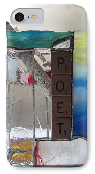 Poet Windowsill Box Phone Case by Karin Thue