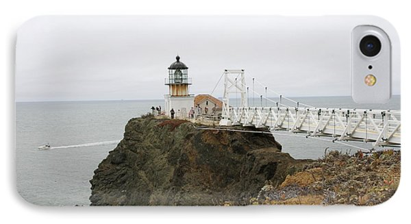 Point Bonita Light IPhone Case by Christiane Schulze Art And Photography