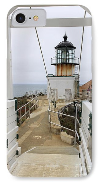 Point Bonita Light Form The Bridge IPhone Case by Christiane Schulze Art And Photography