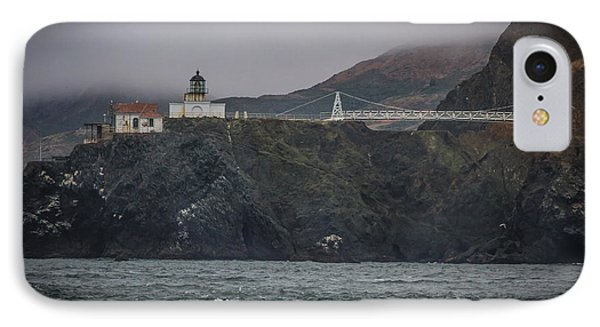 Point Bonita Light House IPhone Case by Mitch Shindelbower