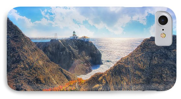 Point Bonita Lighthouse - Marin Headlands 2 IPhone Case by Jennifer Rondinelli Reilly - Fine Art Photography