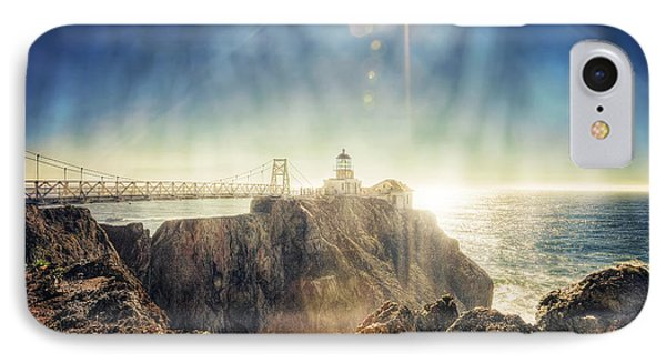 Point Bonita Lighthouse - Marin Headlands 3 IPhone Case by Jennifer Rondinelli Reilly - Fine Art Photography