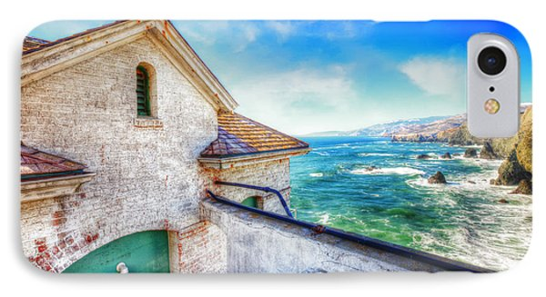 Point Bonita Lighthouse - Marin Headlands 4 IPhone Case by Jennifer Rondinelli Reilly - Fine Art Photography