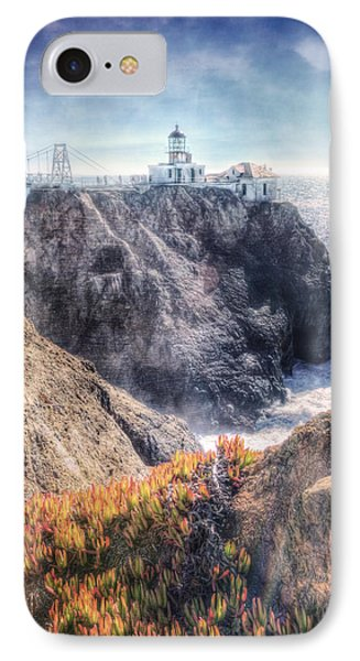 Point Bonita Lighthouse - Marin Headlands 5 IPhone Case by Jennifer Rondinelli Reilly - Fine Art Photography