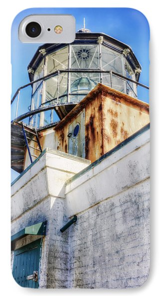 Point Bonita Lighthouse - Marin Headlands 6 IPhone Case by Jennifer Rondinelli Reilly - Fine Art Photography
