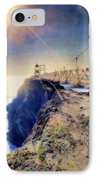 Point Bonita Lighthouse - Marin Headlands 7 IPhone Case by Jennifer Rondinelli Reilly - Fine Art Photography