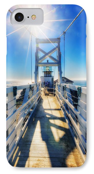 Point Bonita Lighthouse And Bridge - Marin Headlands IPhone Case by Jennifer Rondinelli Reilly - Fine Art Photography
