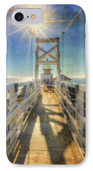 Point Bonita Lighthouse And Bridge 2 - Marin Headlands IPhone Case by Jennifer Rondinelli Reilly - Fine Art Photography