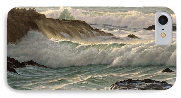 Point Lobos Seascape    Phone Case by Paul Krapf