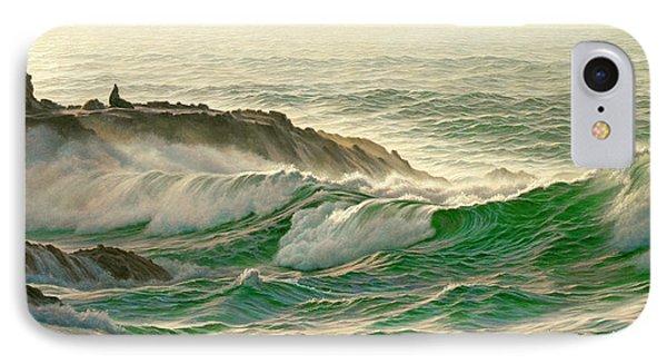 Point Lobos Surf IPhone Case by Paul Krapf