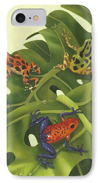 Poison Pals IPhone Case by Laura Regan