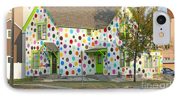 Polka Dot House Phone Case by Steve Augustin