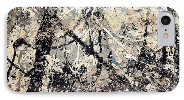 Pollock's Name On Lavendar Mist IPhone Case by Cora Wandel