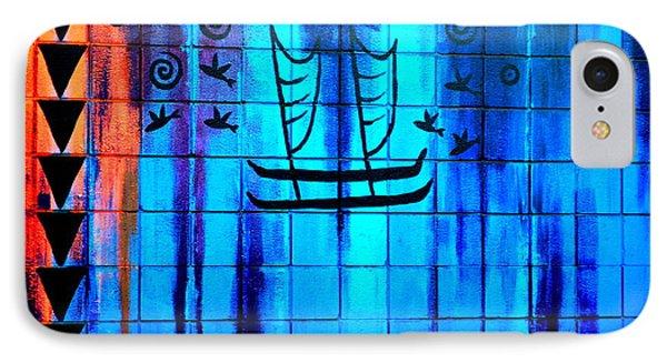 Polynesian Graffiti  Phone Case by Karon Melillo DeVega