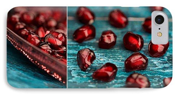 Pomegranate Collage IPhone Case by Nailia Schwarz
