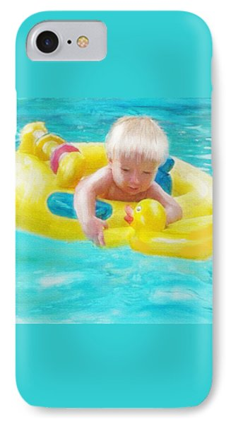 Pool Baby Phone Case by Jane Schnetlage