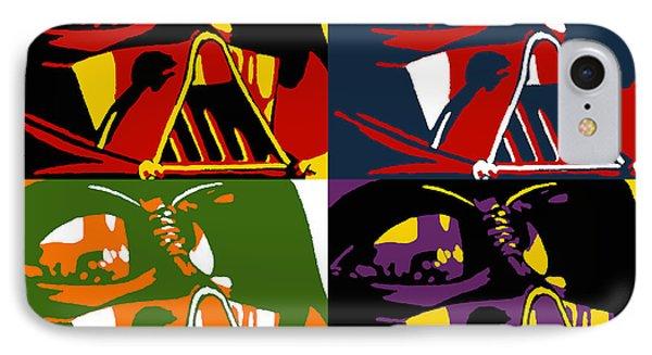 Pop Art Vader Phone Case by Dale Loos Jr