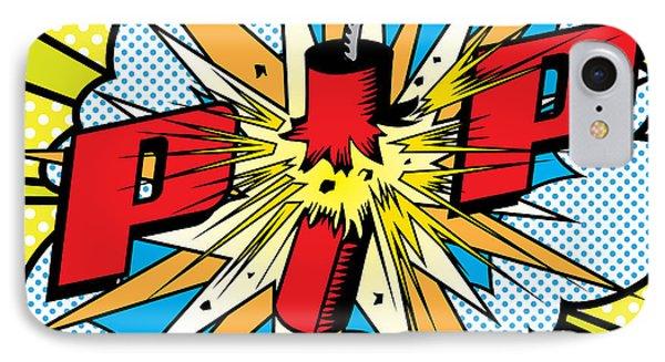 Pop Firecracker IPhone Case by Gary Grayson