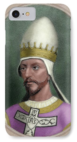 Pope Saint Gregory Vii (c IPhone Case by Prisma Archivo