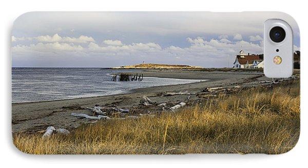 Popham Beach On The Maine Coast IPhone Case by Keith Webber Jr