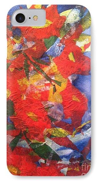 Poppies Gone Wild Phone Case by Sherry Harradence