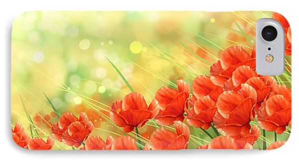 Poppies IPhone Case by Veronica Minozzi