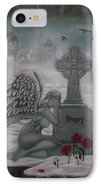 Poppy IPhone Case by Amanda Machin