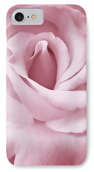 Porcelain Pink Rose Flower Phone Case by Jennie Marie Schell