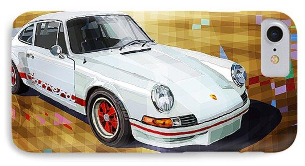 Porsche 911 Rs IPhone Case by Yuriy Shevchuk