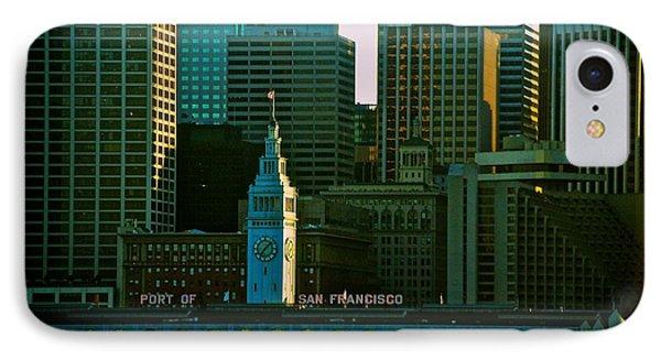 Port Of San Francisco Phone Case by Eric Tressler