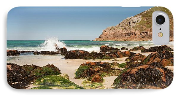 Portheras Cove Near St Just IPhone Case by Ashley Cooper