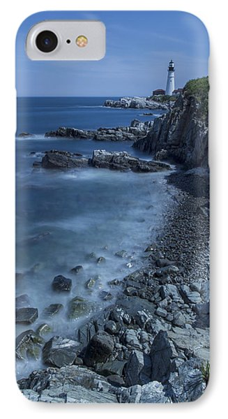 Portland Head Lighthouse Cape Elizabeth Maine IPhone Case by Andy Gimino
