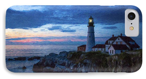 Portland Head Lighthouse IPhone Case by Diane Diederich
