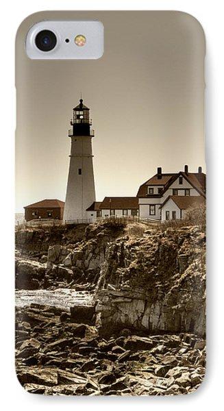 Portland Head Lighthouse Phone Case by Joann Vitali