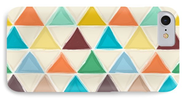 Portland Triangles IPhone 7 Case by Sharon Turner