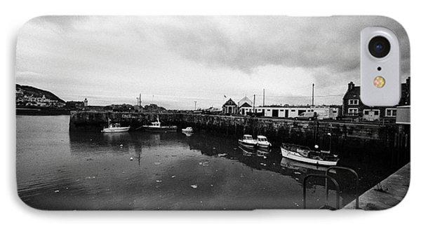 Portpatrick Harbour Scotland Uk Phone Case by Joe Fox