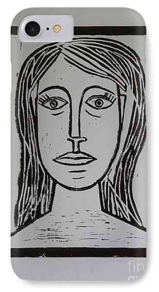 Portrait A La Picasso IPhone Case by Christiane Schulze Art And Photography