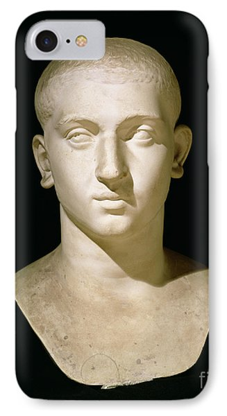 Portrait Bust Of Emperor Severus Alexander Phone Case by Anonymous